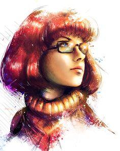 VVernacatola Art: Velma (Scooby Doo)