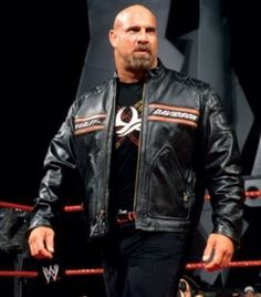 Bill Goldberg Black Harley Davidson Biker Leather Jacket This Leather Jacket is surely like a dream come true for all the men. Most men love wrestling and almost all of them love their motorcycles. He