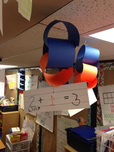 Addition Paper Chains