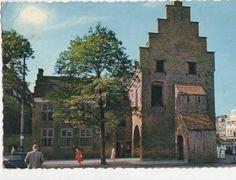 Den Haag Gevangenpoort (Prison Gate Museum) Netherlands 1962 Postcard