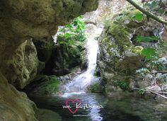 Neraida waterfall in Kythera
