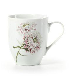 Look at this #zulilyfind! Pink Silk Floral Mug by Mikasa #zulilyfinds
