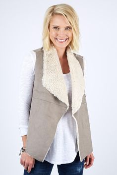 Our Madison Snap Vest by Dylan is the perfect layer to feel cozy in while looking on-trend.