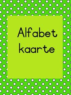 Grade R Worksheets, Afrikaans Language, Language Acquisition, Alphabet Activities, Poster On, Kids Education, Classroom Decor, Languages, Homework