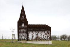 Building of the Year 2012, Religious: Reading Between the Lines / Gijs Van Vaerenbergh