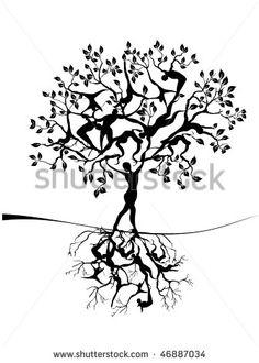 tree of life - stock vector