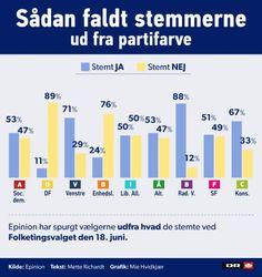 Epinion: Vælgere var utro mod partifarve ved EU-afstemningen | EU 2015 | DR