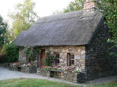 Old Famine House[Replica] Newmarket,,Co. Kilkenny,Ireland. by Pat Duggan - redbubble.com