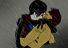 kid flash and robin love - Google Search