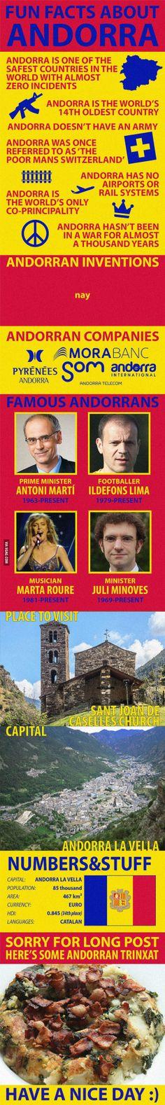 Andorran facts