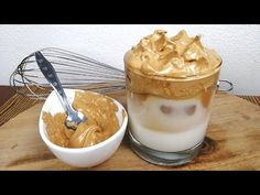 SIN BATIDORA Crema de café. solo 2 ingredientes - YouTube Delicious Desserts, Dessert Recipes, Beverages, Pudding, Youtube, Food, Ideas, Gastronomia, 2 Ingredients