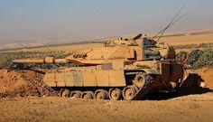 Turkish M60T Sabra in Syria over Al-Bab [2043x1169]
