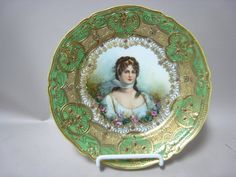 Nippon portrait plate of Queen Louise of Prussia