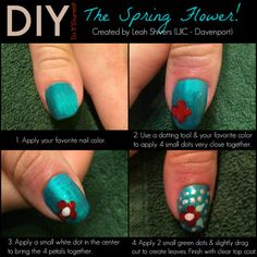 Changing your polish? Next time add this simple flower design… perfect for the spring season! Today's TuesTorial comes from Leah S. from #LJIC – Davenport! Thanks Leah for participating in this week's #LjicTuesTorial! www.facebook.com/lajamesinternational