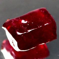 Natural Ruby Stone Rough. Rubies are a great stone for passion, moving forward, adventure. ~ Danielle