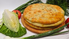 Кабускаджын – осетинский пирог с капустой и сыром (Ossetian Pie with Cabbage and Cheese)