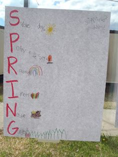 Little Miss Glamour Goes To Kindergarten: spring