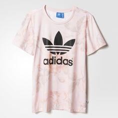 adidas Pastel Rose Printed Tee - Multicolor | adidas US