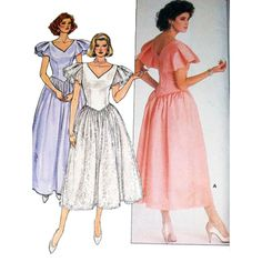 Butterick Sewing Pattern 3684 Misses' Petite Dress  SIZE:  12 Used
