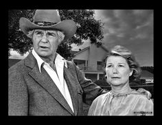 Jock and Miss Ellie from Dallas