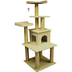 Majestic Pet Products 64 Bungalow Cat Tree  78009 *** You can find more details by visiting the image link.