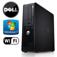Dell Optiplex 745 SFF Desktop - Intel Pentium Dual Core 3.0GHz - 4GB RAM - 160GB HDD - Microsoft Windows 7 Professional 64-Bit - WiFi - DVD/CD-RW (Prepared by ReCircuit) -  https://www.wahmmo.com/dell-optiplex-745-sff-desktop-intel-pentium-dual-core-3-0ghz-4gb-ram-160gb-hdd-microsoft-windows-7-professional-64-bit-wifi-dvdcd-rw-prepared-by-recircuit/ -  - WAHMMO