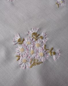 Vintage German hand-embroidered tablecloth by EuropeanThreadwork