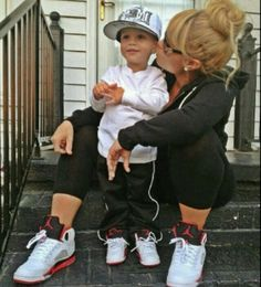 Mother son swag