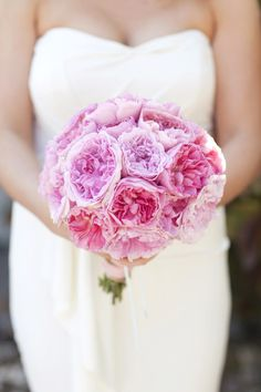 The PINKS have it! Gorgeous bouquet!!
