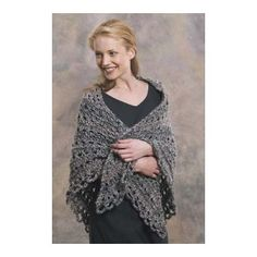 Easy Triangle Shawl in Lion Brand Homespun - 60301-1. Discover more Patterns by Lion Brand at LoveKnitting. We stock patterns, yarn, needles and books from all of your favorite brands.