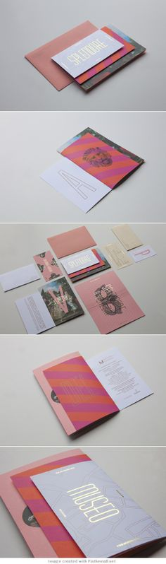 MBAM Invitation on Behance... - a grouped images picture - Pin Them All