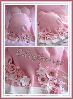 Baby Shower Cake My Tart. Torta Baby Shower, Baby Shower Cupcakes, Shower Cakes, Baby Boy Shower, Pregnant Belly Cakes, Pregnant Cake, Shower Party, Baby Shower Parties, Baby Bump Cakes