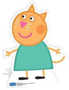 Peppa Pig Character Lifesize Cardboard Cutout Standee Standup Cutouts Decoration | eBay