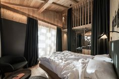 Idea 2581826: Zallinger by noa* network of architecture in Alpe Di Siusi, Italy Light Pollution, South Tyrol, Design Hotel, Architecture Photo, Lounge Areas, Large Windows, The Expanse, Software, Interior Design