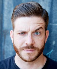 Greased hair  with beard #pmtslouisville #paulmitchellschools #mitchman #mitchmen #man #men #hair #style #hairstyle #haircut #hairstyles #ideas #inspiration