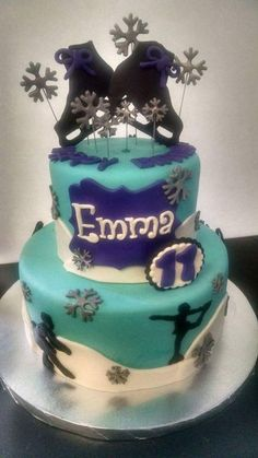 Figure / Ice Skating Cake