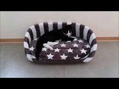 DIY XL Knoten Kissen Bett für Katzen & Hunde   Knot cushion bed for Cats & Dogs - YouTube