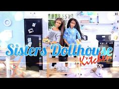 DIY - How to Make: Dollhouse Kitchen - Recycled Doll Crafts - 4K - YouTube