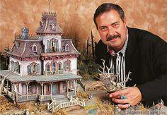 Phantom Manor model, Disneyland Paris