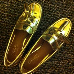 Coach tassle loafers #shoes