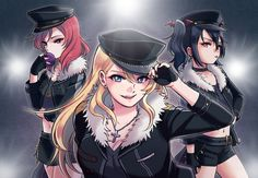 Love live BiBi with Undead outfit