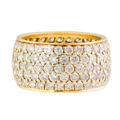 Cartier  Diamond Gold Wide Band