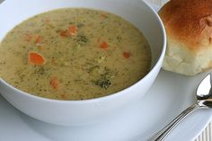 This broccoli cheddar soup is one of my favorites.  Rich, warm and filling, it makes for a wonderful meal.