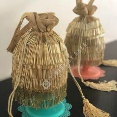 Clutches and Potlis 👜 are a must accessories for a wedding 👰🤵! Check out the amazing collections at for more such… Embroidery Bags, Bead Embroidery Jewelry, Beaded Embroidery, Beaded Clutch, Beaded Bags, Potli Bags, Tatting Jewelry, Bridal Clutch, Wedding Purse