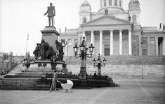 Helsingin tuomiokirkko 1955 Finland