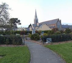 View of St Johns Church from Tralee Town Park, Tralee, Ireland