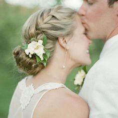 Je veux un joli chignon de mariee