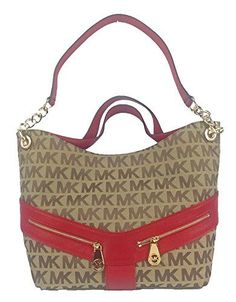 MICHAEL MICHAEL KORS - Selma medium Saffiano leather satchel
