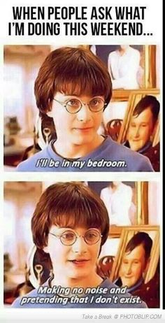 Haha Harry Potter
