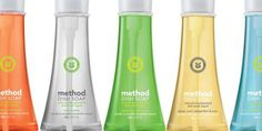 Method soap products...made all natural! Created by 2 UC Berkeley students.